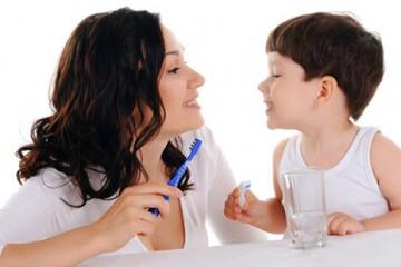 Chăm sóc răng miệng cho trẻ em