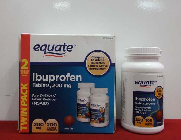 thuoc Ibuprofen tri dau rang cap toc