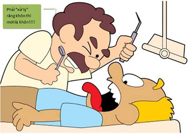 triệu chứng mọc răng khôn